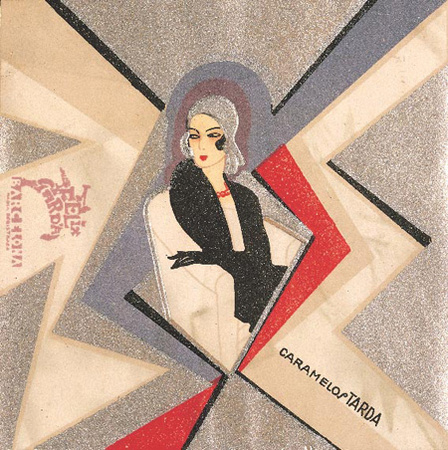 Envoltorio de caramelo 1935