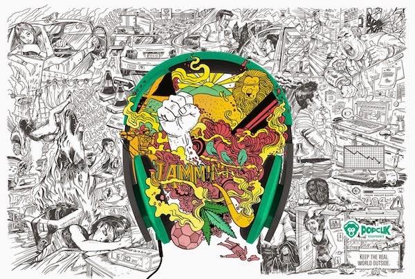 Bob Marley - Anuncio PopClick